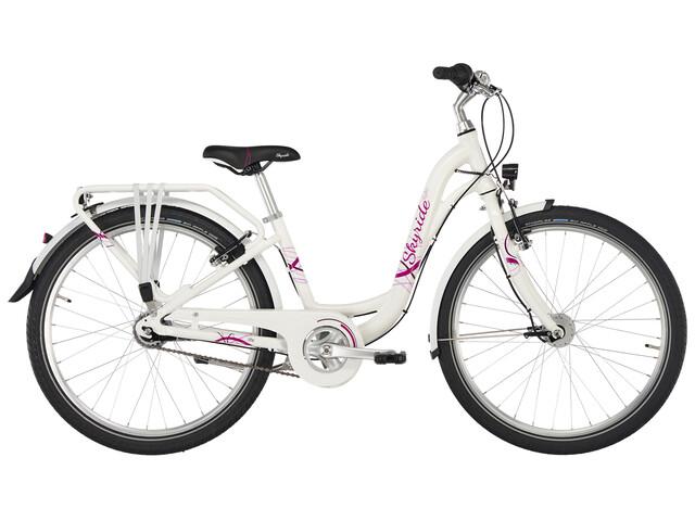 "Puky Skyride Light 24"" - Vélo enfant - 7-vitesse rose/blanc"